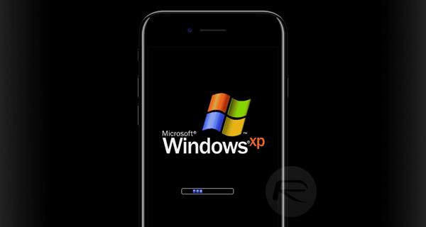 iPhone 7'de Windows Xp Çalıştırdılar
