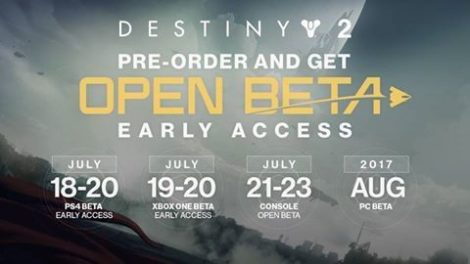 Destiny 2 Beta Tarihi Belli Oldu