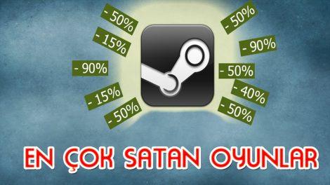Bu Yıl Steam'de En Çok Satılan Oyunlar Yayınlandı