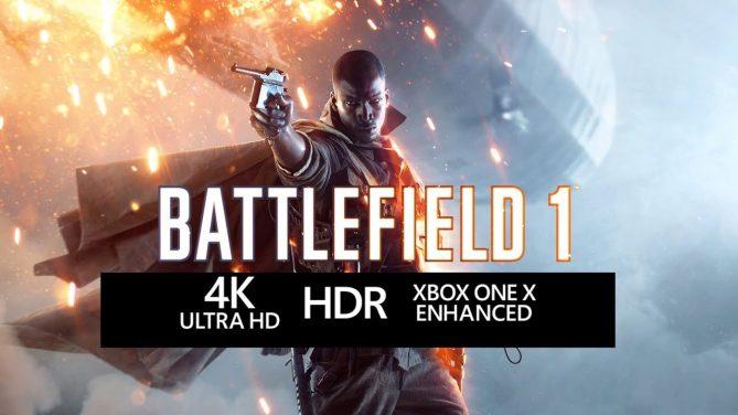 Battlefield 1'in Xbox One X Güçlendirmesi Göz Kamaştırıyor!