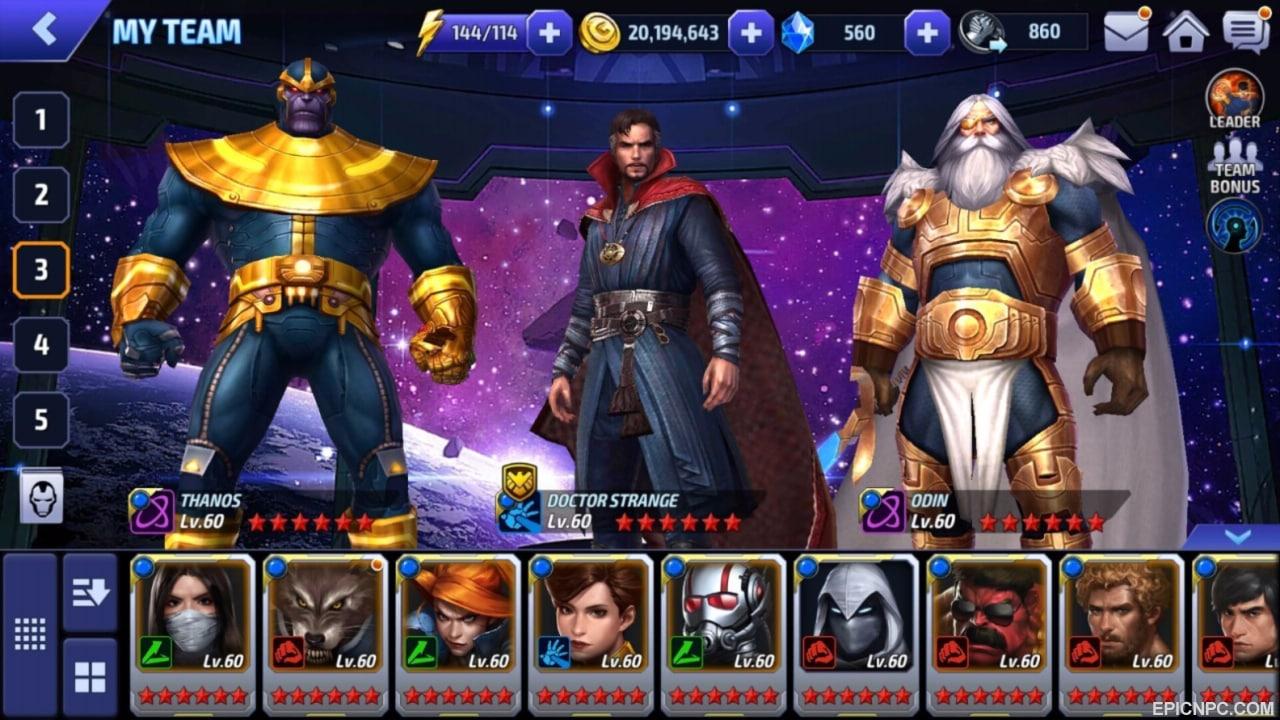 Sizin İçin Seçtiğimiz 5 BlueStacks Oyunu - Marvel Future Fight