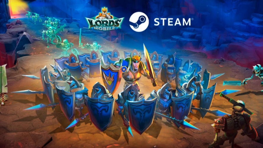 Mobil Oyun Devi Lords Mobile Artık Steam'de!