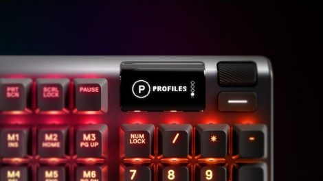 SteelSeries Oyuncu Klavyesi Apex 5 ile Oyun Kalitesini Arttırıyor