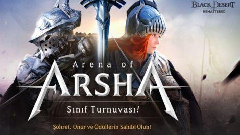 Black Desert Türkiye&MENA'da Arsha Arenası 2020 Kayıtları Başladı !
