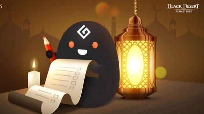 Black Desert Türkiye&MENA'da Ramazan Kutlamaları Devam Ediyor