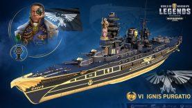 Warhammer 40.000 Korkunç Atmosferiyle World Of Warships'e Geliyor
