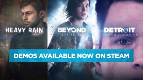 Quantic Dream Oyunları Steam'e Geliyor!