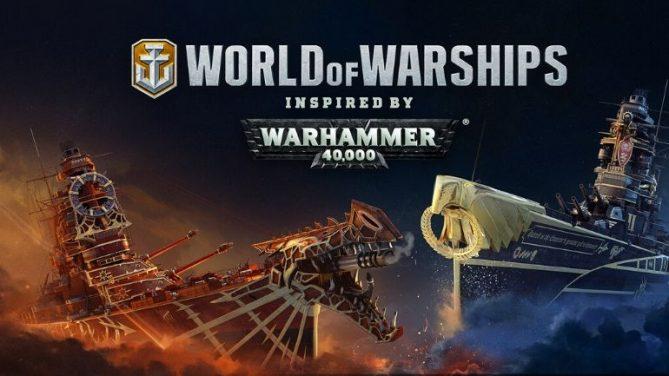 WARHAMMER 40,000 Macerası World of Warships'e Geliyor