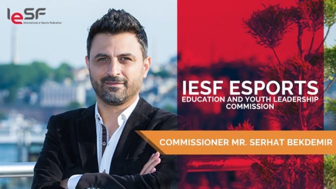 Uluslararası Espor Federasyonu (IESF), 'Eğitim ve Gençlik Komisyonu' kuruldu; ilk başkanlık onuru bir Türk'ün.