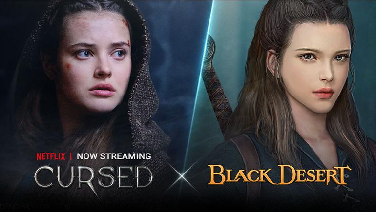"""Black Desert'ta Netflix Orijinal Yapımlarından """"Cursed""""ü Konu Alan Crossover Etkinliği Başladı"""