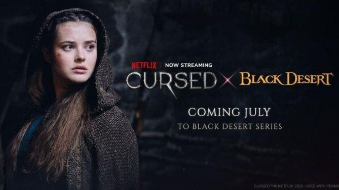 """Pearl Abyss, Black Desert için Netflix Orijinal Yapımlarından """"Cursed""""ü Konu Alan Yeni Bir İçerik Yayınlıyor"""