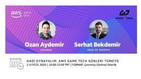 AWS Game Tech Günleri Türkiye Yakında Başlıyor!