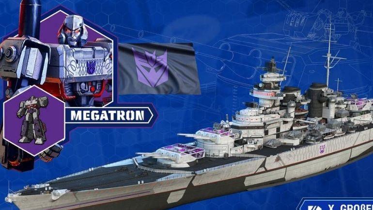 Transformers, World of Warships Evrenindeki Yerini Alıyor