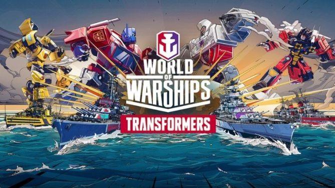 Transformers, World of Warships ve World of Warships: Legends Evrenine Dönüyor
