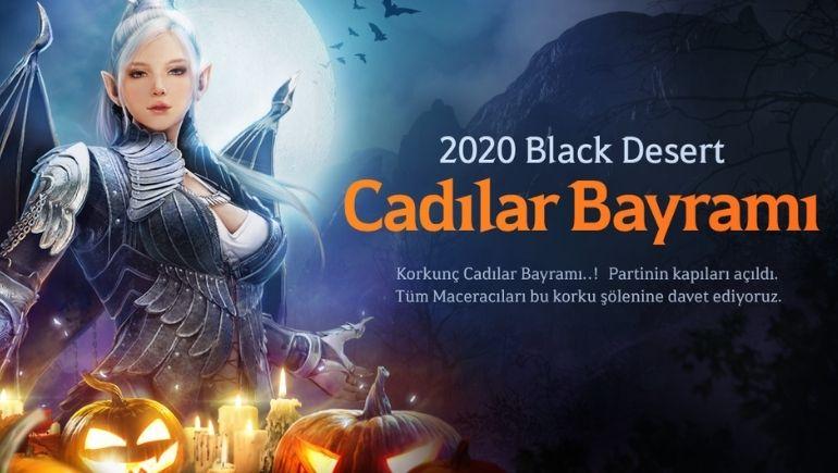 Cadılar Bayramı Black Desert Türkiye&MENA'ya Geliyor