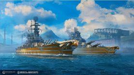 Yeni ABD Savaş Gemileri World of Warships'e Yelken Açıyor