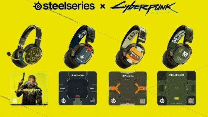 Yeni Cyberpunk 2077 Aksesuarları ve SteelSeries Sanatçı Serisi Tanıtıldı