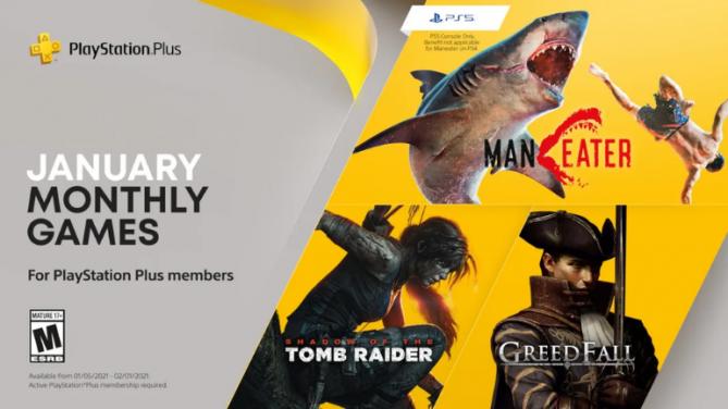 PS Plus 2021 Ocak Ayı Ücretsiz Oyunları