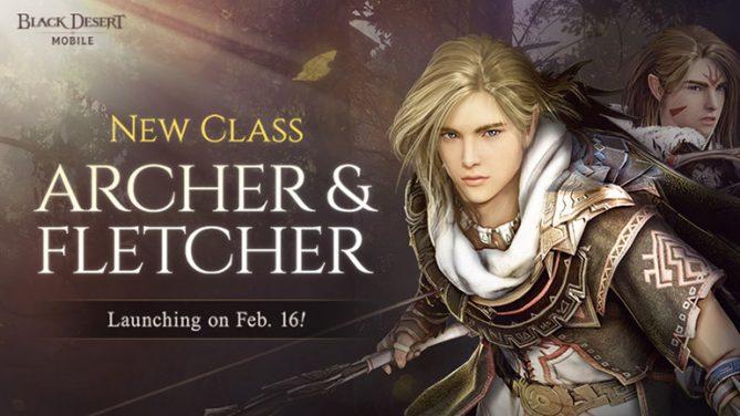 Archer ve Uyanış Yapmış Sınıfı Fletcher Artık Black Desert Mobile'da!