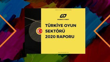 Türkiye Oyun Sektörü 2020 Raporu ve Detayları Belli Oldu