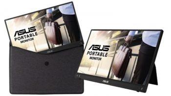 ASUS, Yeni Taşınabilir Monitörü ZenScreen MB16ACV'yi Duyurdu