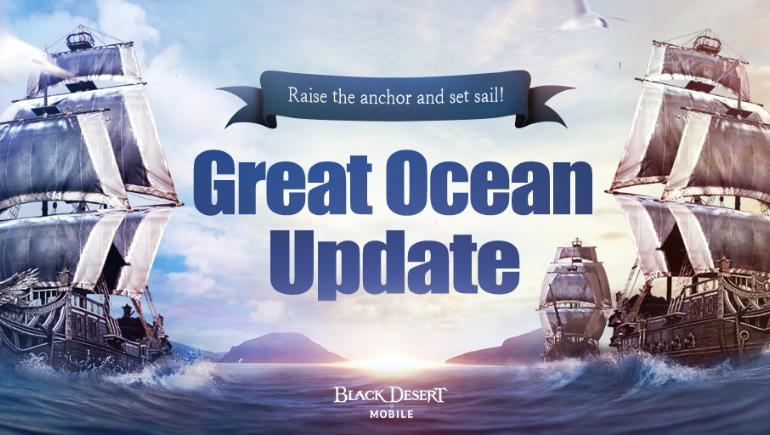 Büyük Okyanus Black Desert Mobile'a Geldi