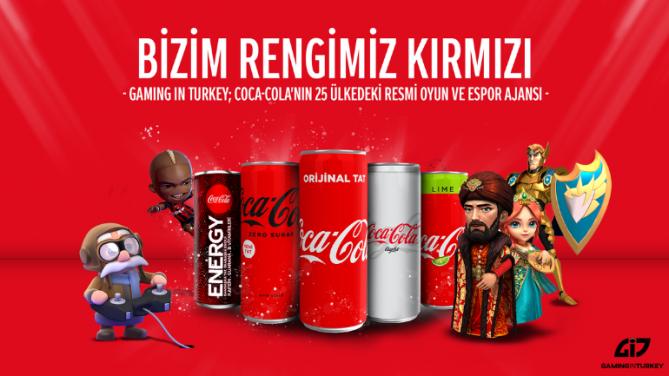 Coca-Cola'nın 25 Ülkedeki Oyun ve Espor Ajansı Gaming in Turkey Oldu