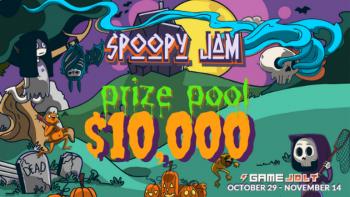 Spoopy Jam Ödül Havuzu Olarak $10.000 Tutarını Açıklamaktan Dolayı Büyük Heyecan Duyuyor!
